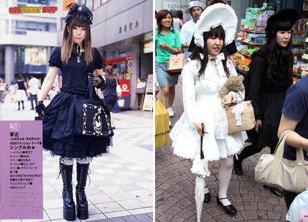 """Những phong cách """"quái đản"""" của các cô gái Nhật Bản 1"""