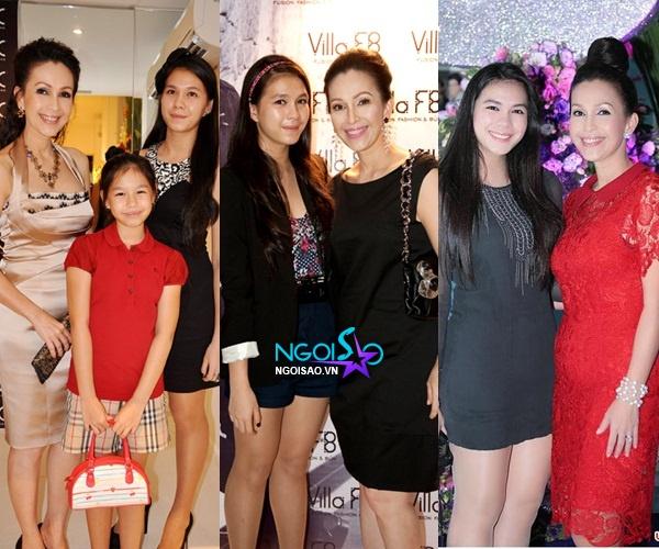 """Những cặp mẹ - con sao Việt trẻ trung như... """"hai chị em"""" 8"""