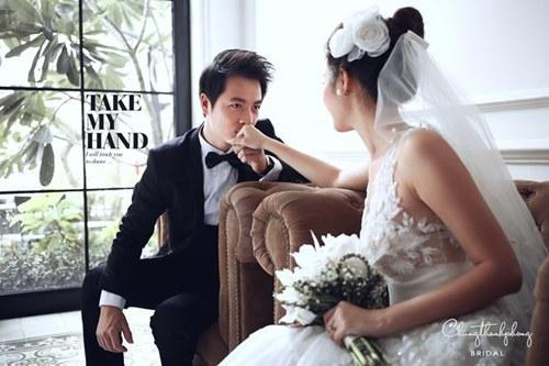 Ngây ngất với ảnh cưới lãng mạn của Đăng Khôi 23