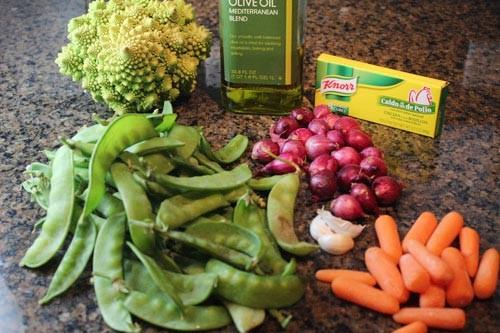 Ngon cơm với rau xào thập cẩm mùa đông 1