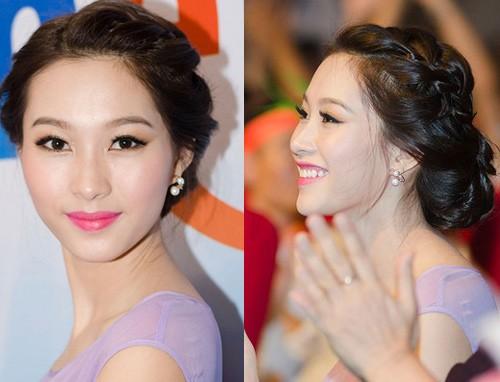 Những kiểu tóc nhìn là yêu của hoa hậu Thu Thảo 8