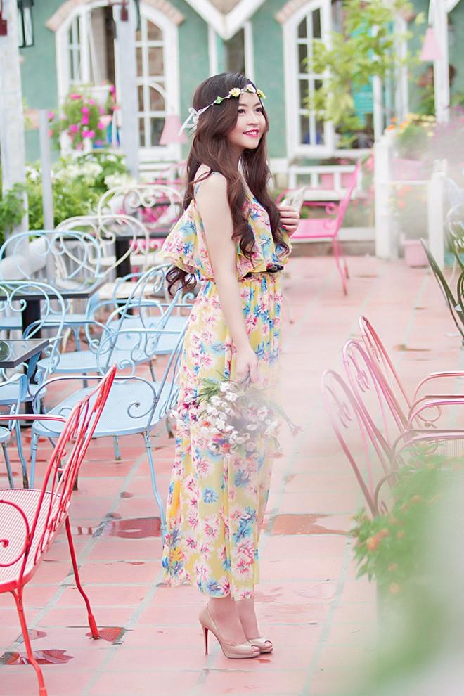 Váy maxi sắc màu lãng mạn cho bạn gái mùa thu 3
