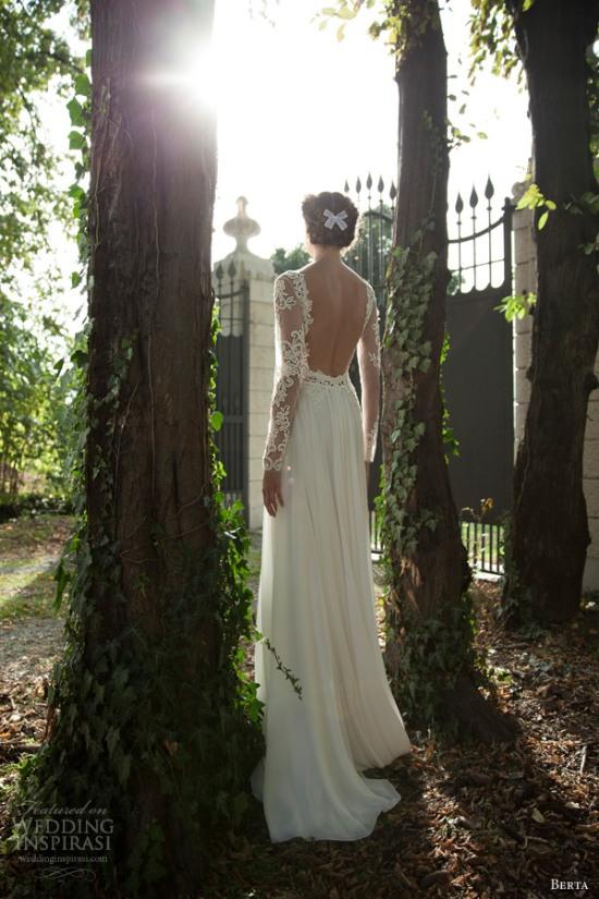Những mẫu váy cưới dài tay đẹp đến khó tin 6