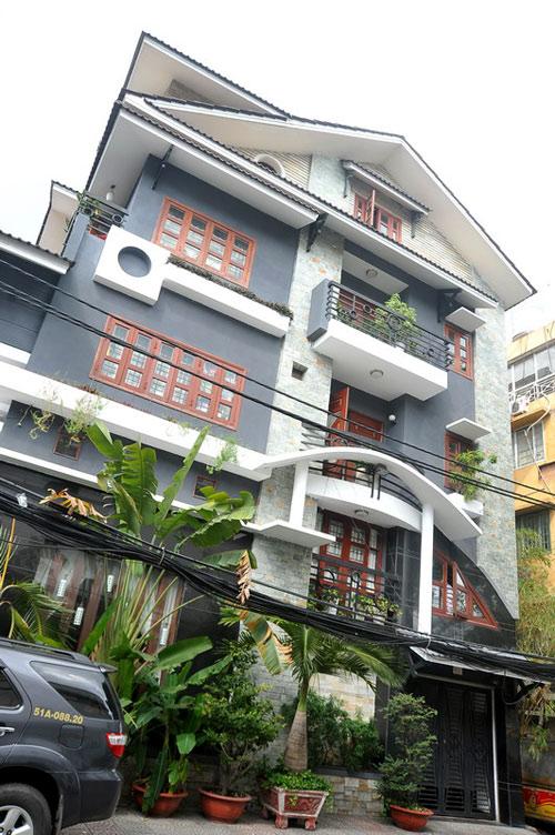 Thăm nhà 2 triệu đô của Lý Hải - Minh Hà 1