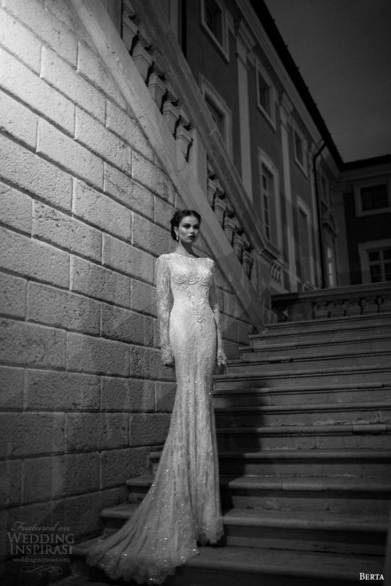Những mẫu váy cưới dài tay đẹp đến khó tin 3