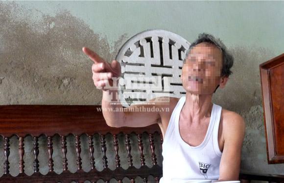 Nghi án ông lão 77 tuổi hiếp dâm bé gái tâm thần 13 tuổi 1
