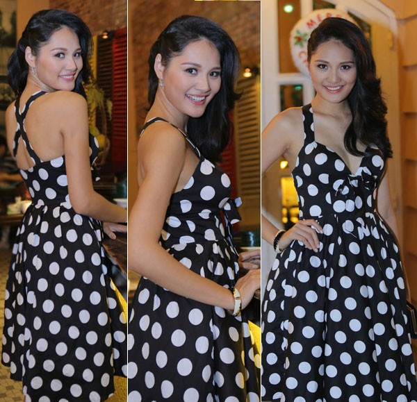 Kiều nữ Việt xinh lung linh với dáng váy xoè 7