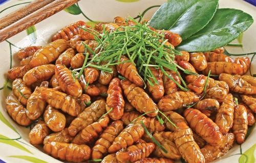 4 loại ấu trùng mê hoặc thực khách Việt 9