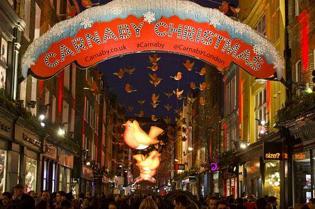Không khí Giáng sinh nhộn nhịp khắp thế giới 7