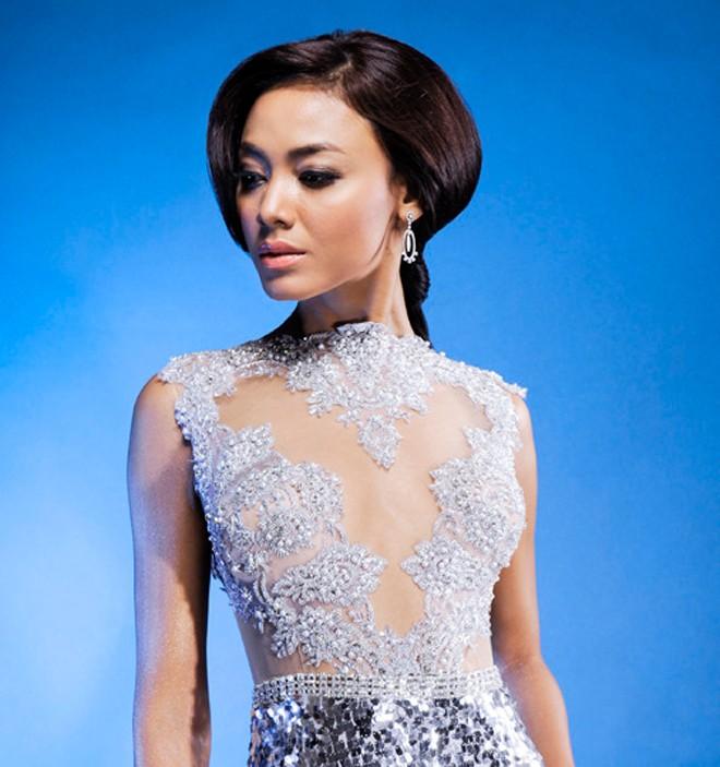 Đọ nhan sắc Trương Thị May và các Hoa hậu Hoàn vũ châu Á 4