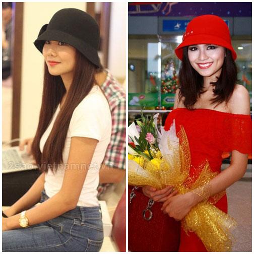 Cùng sao Việt chọn mũ cho chuyến du lịch hè 16