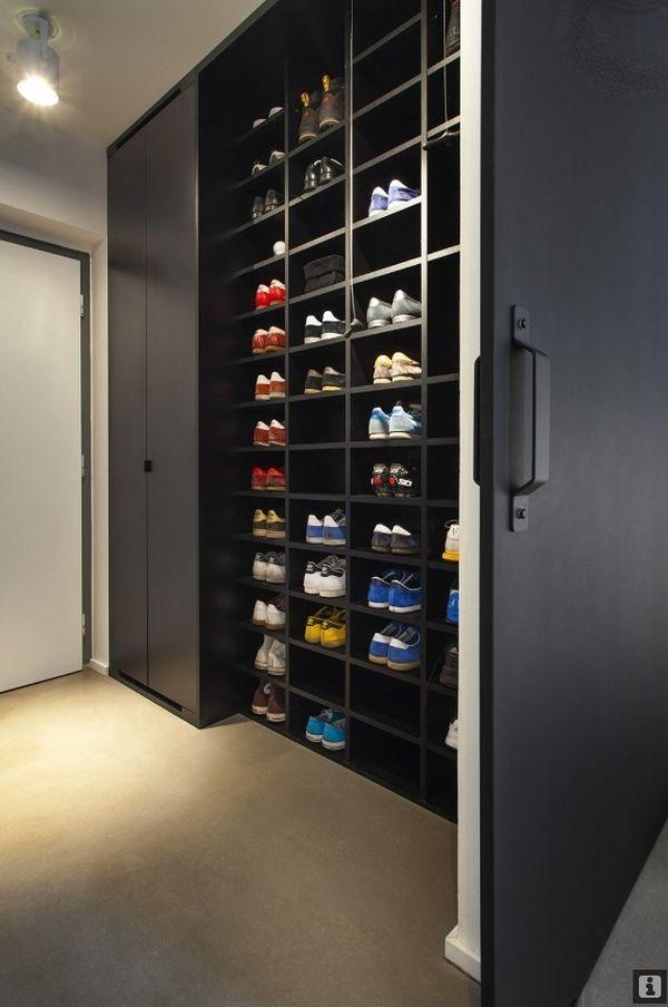 Ngắm căn hộ hiện đại với gam màu đen trắng 6