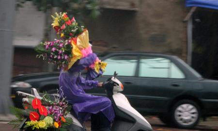 Đội mưa, vượt lũ, mua hoa cho người thương 6