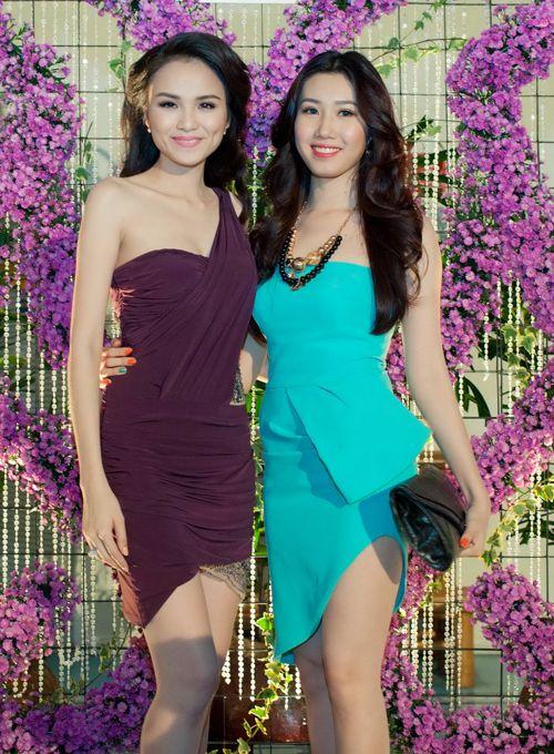 Hoa hậu Diễm Hương tổ chức sinh nhật hoành tráng toàn màu tím 7