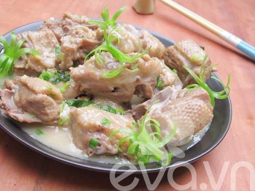 Cơm chiều với vịt om nước cốt dừa 9