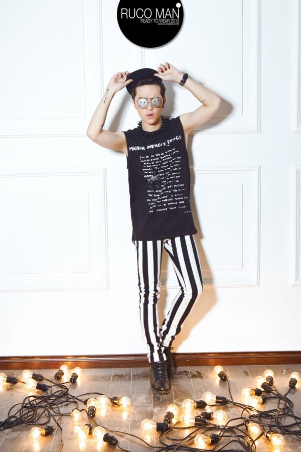 Biến hóa cho thời trang nam trong hè 2013 2