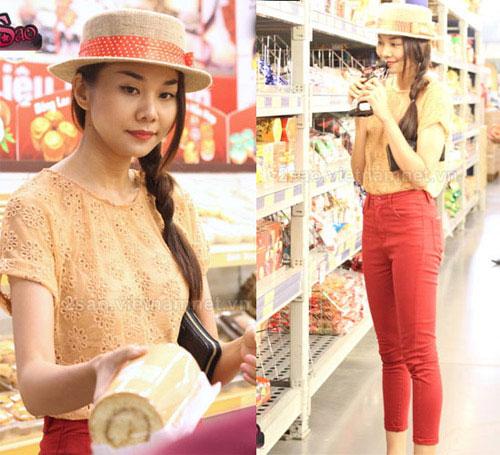 Cùng sao Việt chọn mũ cho chuyến du lịch hè 11
