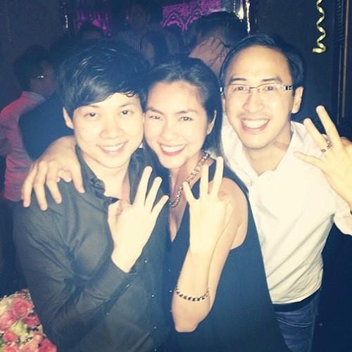 Hà Tăng đón sinh nhật đầu tiên bên chồng 8