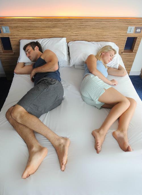 Đo độ hạnh phúc hôn nhân qua tư thế nằm của vợ chồng 1