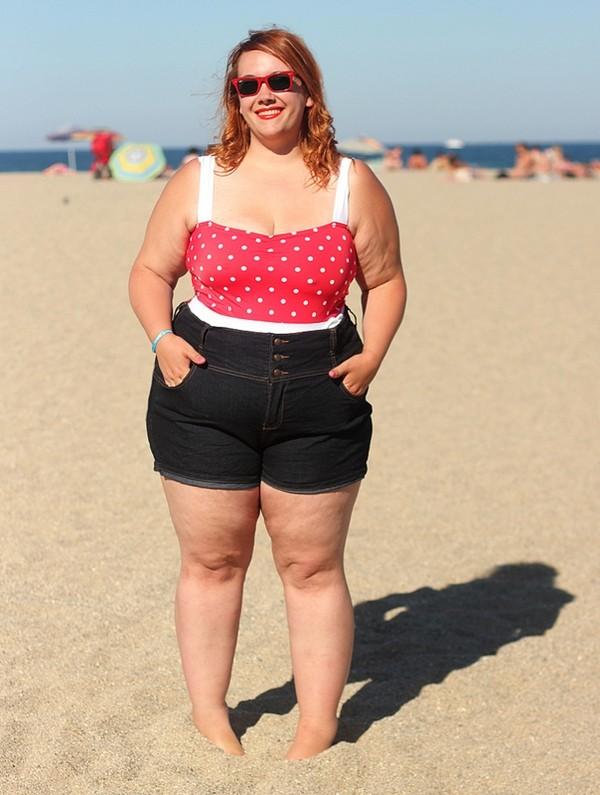 Những cô nàng béo phì nhưng vẫn xinh đẹp nổi tiếng 15