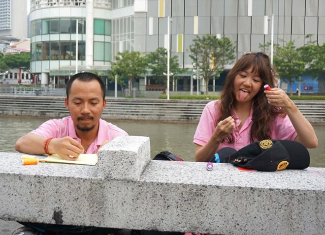 Dàn trai xinh, gái đẹp 'Cuộc đua kỳ thú' đại náo Singapore 12