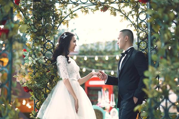 Hé lộ ảnh cưới tuyệt đẹp của Á hậu Thùy Trang 3