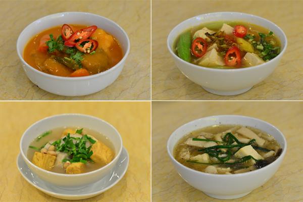No miệng bữa trưa với những món ăn rau củ 5
