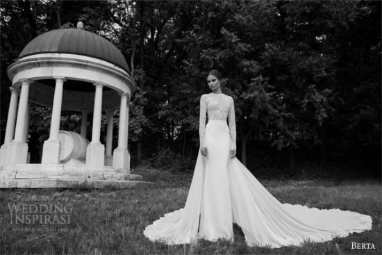 Những mẫu váy cưới dài tay đẹp đến khó tin 9