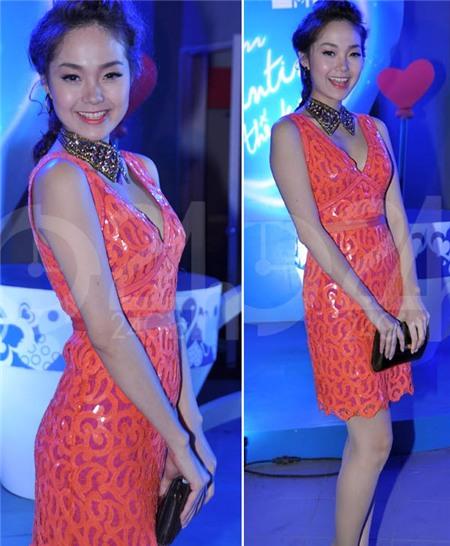 Ngắm phong cách thời trang ngọt ngào của Minh Hằng 4