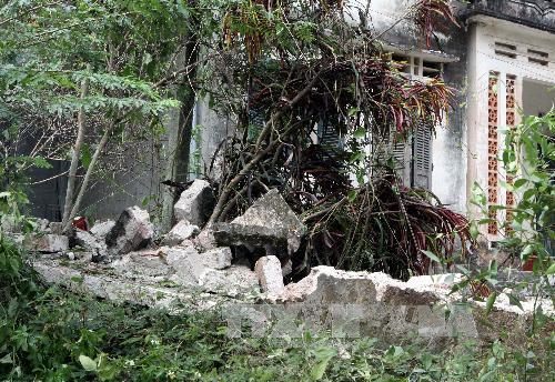 Hình ảnh thiệt hại vụ nổ kho thuốc pháo ở Phú Thọ 3
