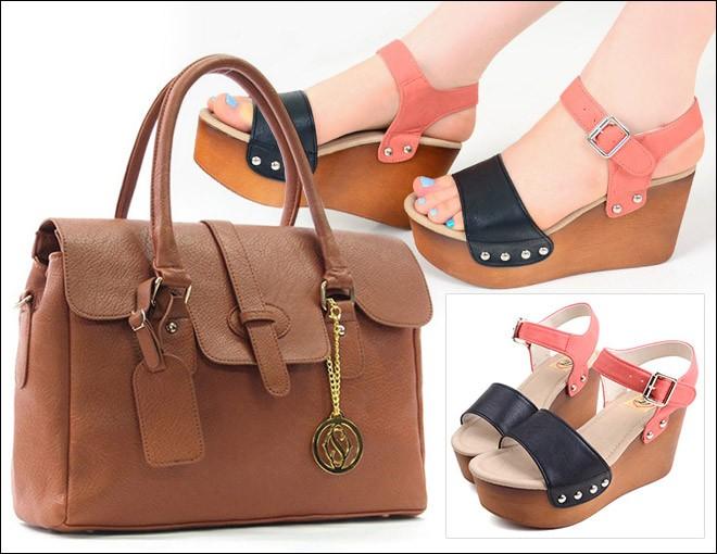 Cách phối đồ hoàn hảo giữa giày và túi 6