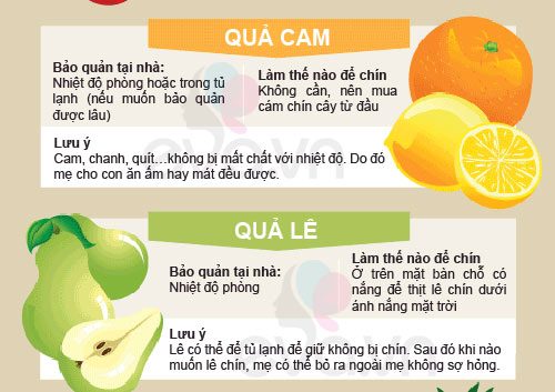 "Cho con ăn hoa quả: sai là ""công cốc"" 5"