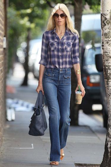 Học cách mặc quần jean nữ đẹp như sao Hollywood 18