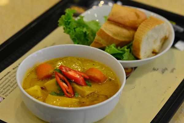 No miệng bữa trưa với những món ăn rau củ 9