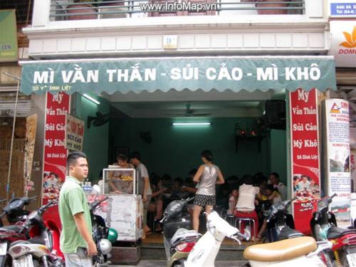 Các món mỳ ngon, không sợ nóng ở Hà Nội 6
