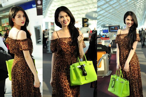 Hút mắt với thời trang sân bay của Ngọc Trinh 13