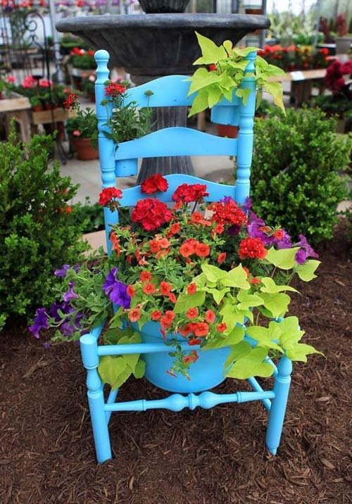 10 cách táo bạo trồng vườn hoa xinh lung linh 9
