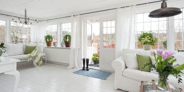 Ngắm ngôi nhà lãng mạn với tông màu trắng - xanh 3