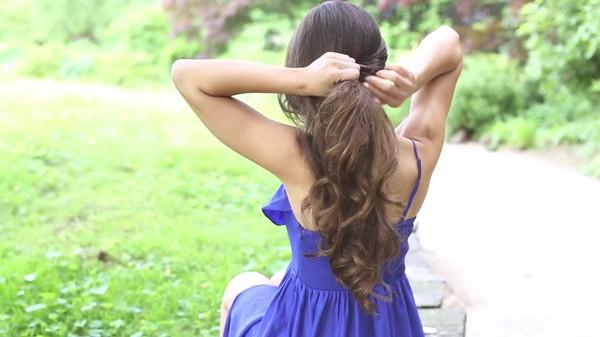 Tự thực hiện 3 kiểu tóc dịu dàng cho mùa thu 4