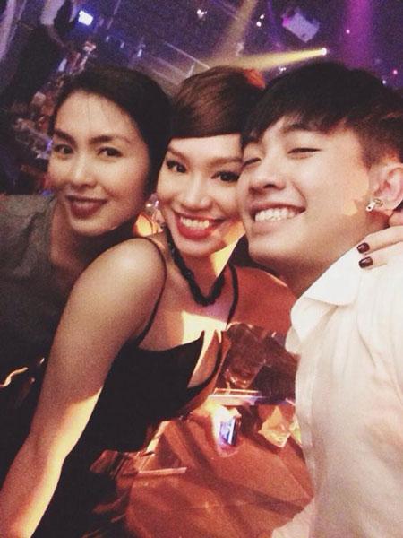 Vợ chồng Hà Tăng vui vẻ đến dự sinh nhật của Trà My Idol 3