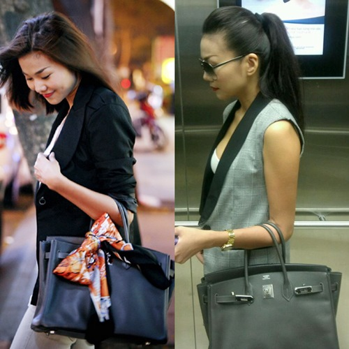 Bộ sưu tập túi xách tiền tỷ của Thanh Hằng 4