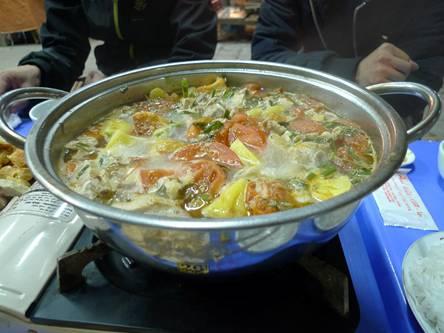 Lẩu riêu ngao bắp bò phố Nghĩa Tân 5