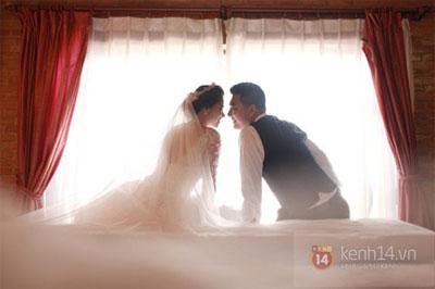 Mỹ Dung khoe ảnh cưới đẹp lung linh 3