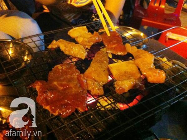 Lai rai đồ nướng, lẩu cháo ngon rẻ trên phố Trần Quý Cáp 2