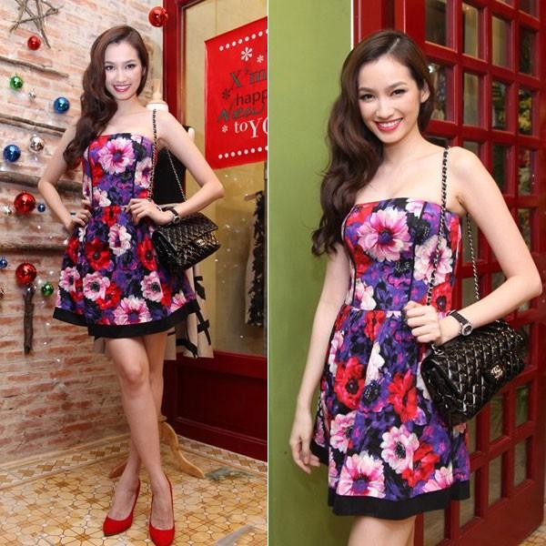 Phong cách thời trang đẹp mỹ miều của Trúc Diễm 8