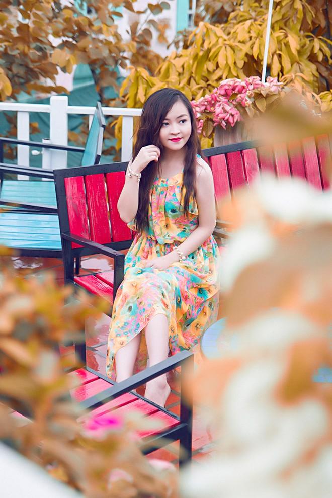 Váy maxi sắc màu lãng mạn cho bạn gái mùa thu 14