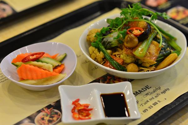 No miệng bữa trưa với những món ăn rau củ 8