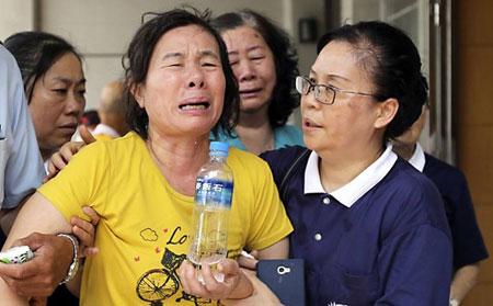 Vụ nổ gas ở Đài Loan: Nước mắt tang thương bao trùm bệnh viện, nhà tang lễ 1