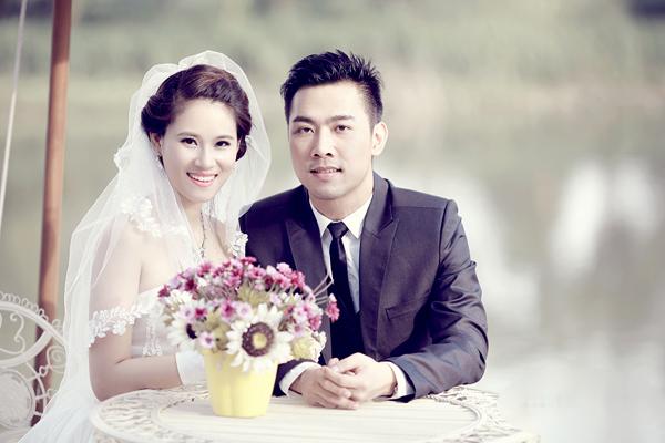 Chiêm ngưỡng ảnh cưới đẹp long lanh của Hoa hậu Biển Vân Anh 1