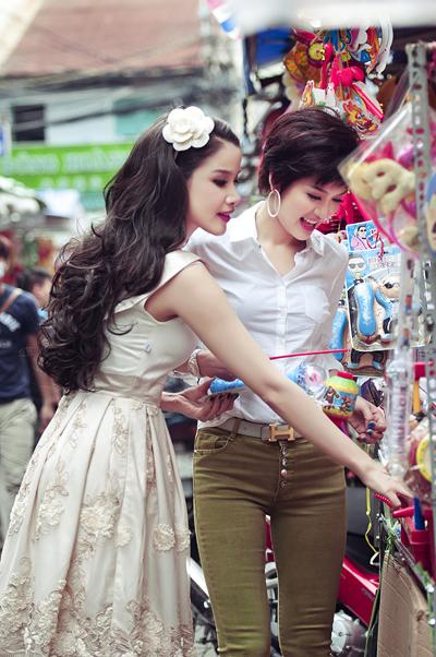 Hai single mom Bảo Trúc, Oanh Yến đọ sắc 4